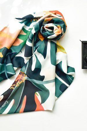 روسری رنگ بژ