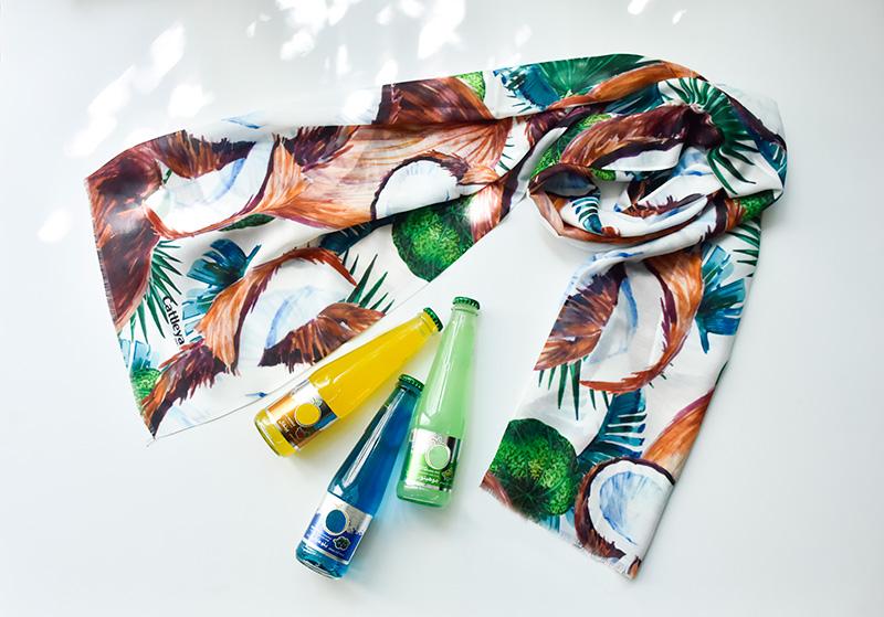 شال و روسری تابستانی